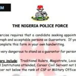 Print NPF Guarantor Form